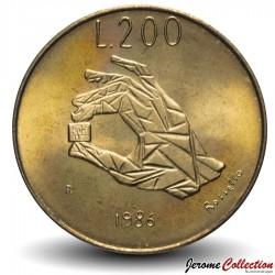 SAINT-MARIN - PIECE de 200 Lires - Transistor - 1986 Km#194