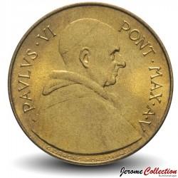 VATICAN - PIECE de 20 Lires - Saint Pierre et Paul - 1967