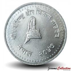 NEPAL - PIECE de 50 Paisa - Bodnath - 2000 - २०५७ Km#1072