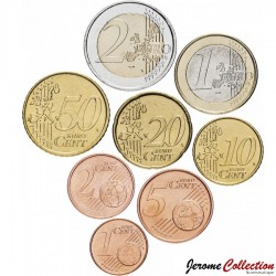 ESPAGNE - SET / LOT de 8 PIECES de 1 2 5 10 20 50 Cents - 1 2 Euro - 2003