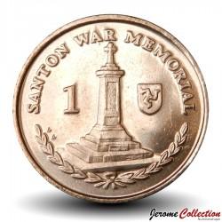 ILE DE MAN - PIECE de 1 Penny - Mémorial - 2016 Km#1253