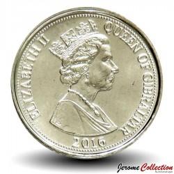 GIBRALTAR - PIECE de 5 Pence - Fleur - 2016