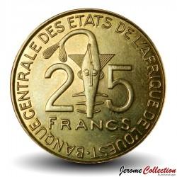 ETATS DE L'AFRIQUE DE L'OUEST - PIECE de 25 FRANCS - Laborantine - 2010