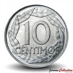 ESPAGNE - PIECE de 10 Centimos - Francisco Franco - 1959