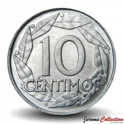 ESPAGNE - PIECE de 10 Centimos - Francisco Franco - 1959