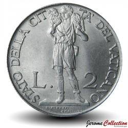 VATICAN - PIECE de 2 Lires - Le Berger - 1941