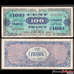 FRANCE - BILLET de 100 Francs - 1944 - Série 6