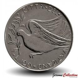 VATICAN - PIECE de 100 Lires - Colombe - 1973
