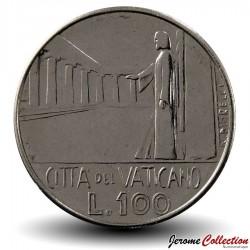 VATICAN - PIECE de 100 Lires - 1978 Km#122