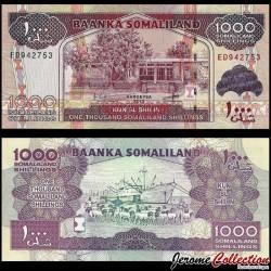 SOMALILAND - Billet de 1000 Shillings - 2012 P20b
