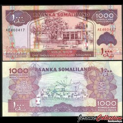 SOMALILAND - Billet de 1000 Shillings - 2011 P20a