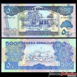 SOMALILAND - Billet de 500 Shillings - 1996 P6b