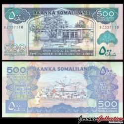SOMALILAND - Billet de 500 Shillings - 2006 P6f
