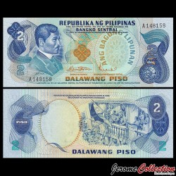 PHILIPPINES - Billet de 2 Piso - Jose Rizal - 1970