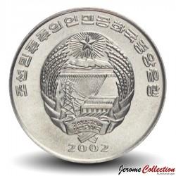 COREE DU NORD - PIECE de 1/2 Chon - Drakkar Viking - 2002