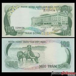 SUD VIETNAM - Billet de 100 DONG - 1972 P31a