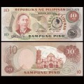 PHILIPPINES - Billet de 10 Piso - Apolinario Mabini - Inauguration Marcos - 1981 P167a