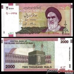 IRAN - Billet de 2000 Rials - Kaaba - 2005
