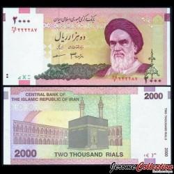 IRAN - Billet de 2000 Rials - Kaaba - 2007