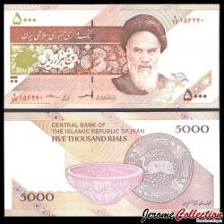 IRAN - Billet de 5000 Rials - Poterie de Zabol - 2018