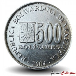 VENEZUELA - PIECE de 500 Bolivars - 2004 Y#94