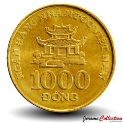 VIETNAM - PIECE de 1000 Dong - La pagode Bat De - 2003 Km#72