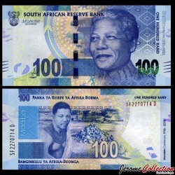 AFRIQUE DU SUD - Billet de 100 Rand - Centenaire de Mandela - 2018 P146a