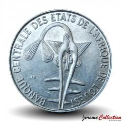 ETATS DE L'AFRIQUE DE L'OUEST - PIECE de 1 FRANC - 2001 - BCEAO