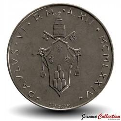 VATICAN - PIECE de 100 Lires - Colombe - 1974 - MCMLXXIV