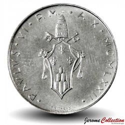 VATICAN - PIECE de 100 Lires - Colombe - 1972 - MCMLXXII