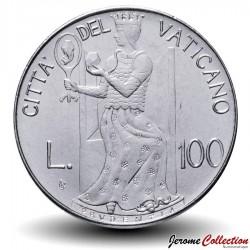 VATICAN - PIECE de 100 Lires - Prudence - 1980 Km#146