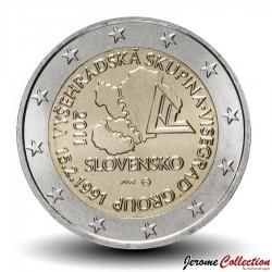 SLOVAQUIE - PIECE de 2 Euro - Groupe de Visegrád - 2011 Km#114