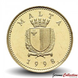MALTE - PIECE de 1 CENT - BELETTE - 1998
