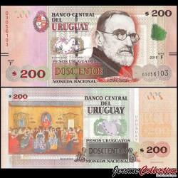 URUGUAY - Billet de 200 Pesos Uruguayos - Pedro Figari - 2015 P96a