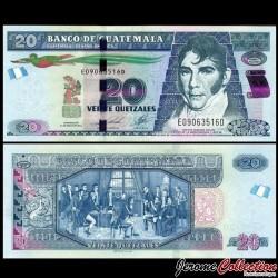 GUATEMALA - Billet de 20 Quetzales - 14.02.2017 P124f