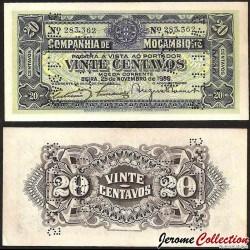 MOZAMBIQUE - Billet de 20 Centavos - 1933