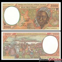 GUINEE EQUATORIALE - BEAC - Billet de 2000 Francs - 2000 P503Ng