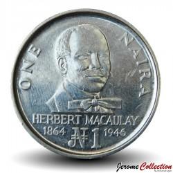 NIGERIA - PIECE de 1 Naira - Herbert Macaulay - 1991 Km#14