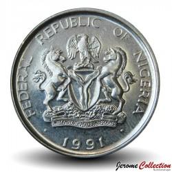 NIGERIA - PIECE de 1 Naira - Herbert Macaulay - 1991