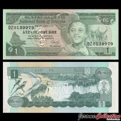 ETHIOPIE - Billet de 1 Birr - 1987