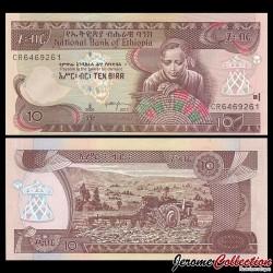 ETHIOPIE - Billet de 10 Birr - 2017
