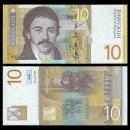 YOUGOSLAVIE - Billet de 10 Dinara - Vuk Stefanovic Karadzic - 2000
