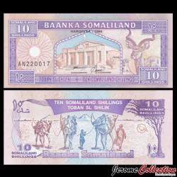 SOMALILAND - Billet de 10 Shillings - 1996