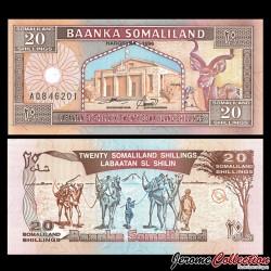 SOMALILAND - Billet de 20 Shillings - 1994
