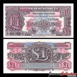 ROYAUME UNI / ARMEE - Billet de 1 Pounds - 1948 P-M22