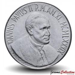 VATICAN - PIECE de 100 Lires - Pélican - 1989