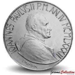 VATICAN - PIECE de 100 Lires - Famille Unie - Jean-Paul II - 1982