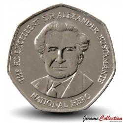 JAMAIQUE - PIECE de 1 Dollar - Sir Alexander Bustamante - 2006 Km#164