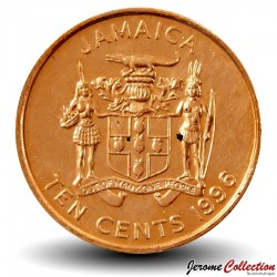 JAMAIQUE - PIECE de 10 Cents - Paul Bogle - 1996