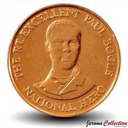 JAMAIQUE - PIECE de 10 Cents - Paul Bogle - 1995 Km#146.2